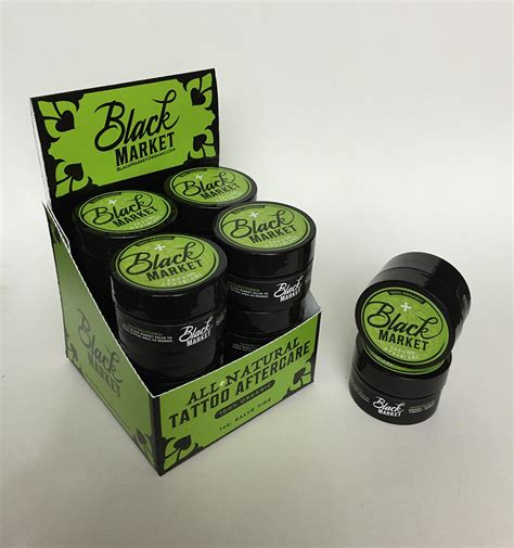 tattoo aftercare oil organic tattoo aftercare balm from black market organics