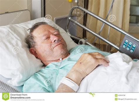guy in hospital bed man in hospital bed stock photo image 42304758