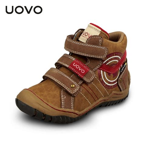 cut shoes for uovo mid cut children boys sport shoes outdoor shoes