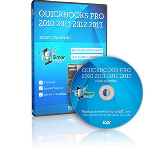 quickbooks tutorial dvd learn quickbooks pro 2013 2012 2011 2010 training