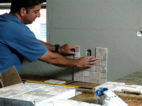 installing backsplash in kitchen how to install a kitchen backsplash