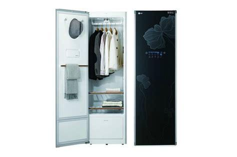 armadio asciugabiancheria lg styler ecco l armadio lava e stira i vestiti