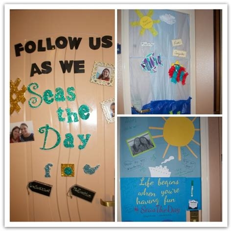 10 ideas for decorating your cruise cabin door seastheday