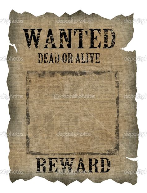 templates for wanted posters old west best photos of vintage old west wanted template old west