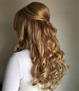 Curly Half Up Half Hairstyles 50 Half Up Half Hairstyles For Everyday And Looks
