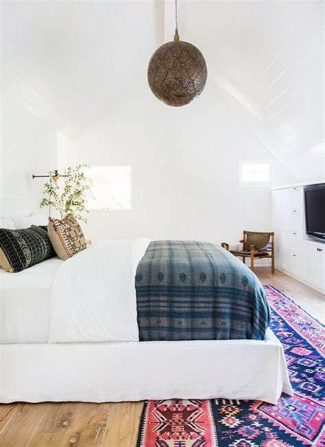 bohemian inspired bedroom get the look a crisp california eclectic master suite