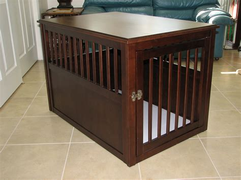 crate your wood crate furniture for your beloved pet trellischicago