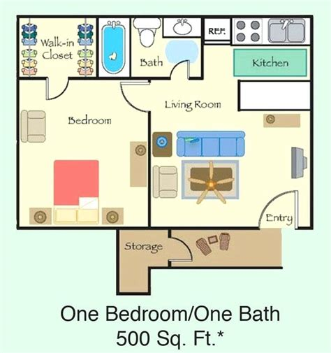 500 square feet 1 bedroom apartment buybrinkhomes com 500 sqft 1 bedroom apartment sq ft apartment floor plan