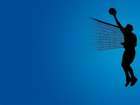 powerpoint themes volleyball volleyball backgrounds wallpaper cave