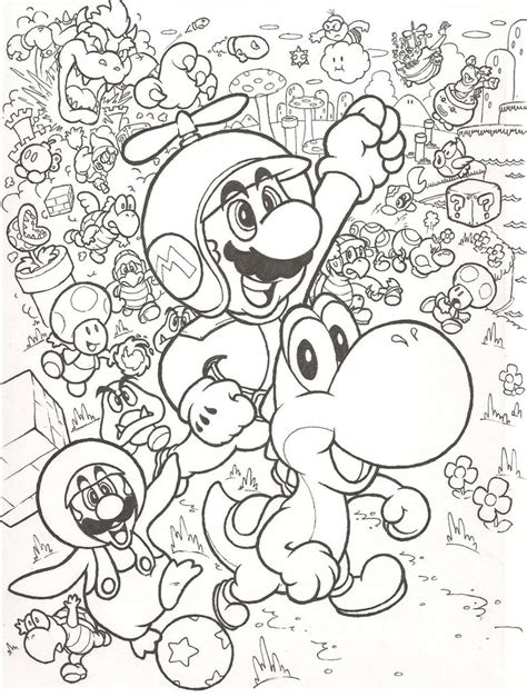 Wii U Coloring Pages by New Mario Bros Wii By Mattdog1000000 On Deviantart