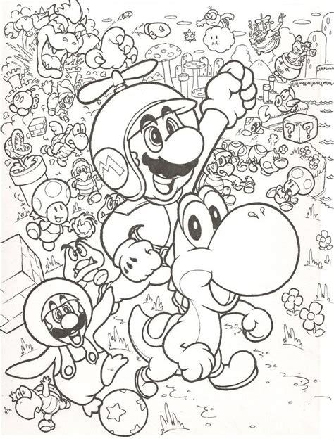 mario bros coloring pages 4u new super mario bros wii by mattdog1000000 on deviantart