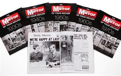 Essay 1930s Decade by Decade Newspaper Paperback Books 1930 S 1970 S Original Newspaper 20th Century Gifts