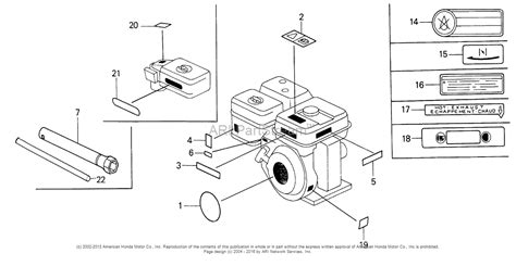 honda small engine parts diagram label the diagram small engine label get free image