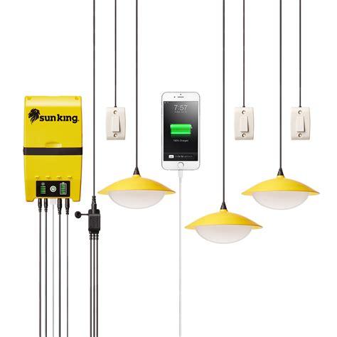 solar lights for cing sun king home