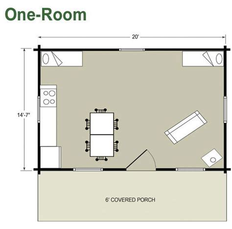 one room guest house plans home deco plans