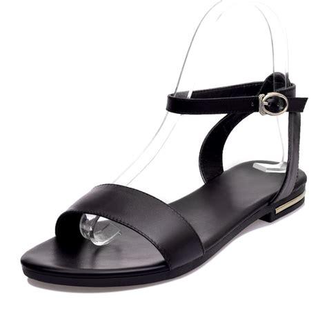 Sandal Wanita Asli Platform Sandal Wanita Change kulit sandal datar beli murah kulit sandal datar lots from china kulit sandal datar suppliers on
