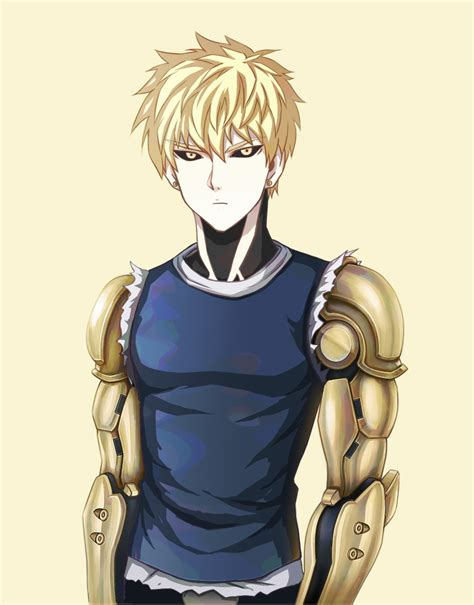 Kaos Anime Genos One Punch cheap easy way to make robot arms