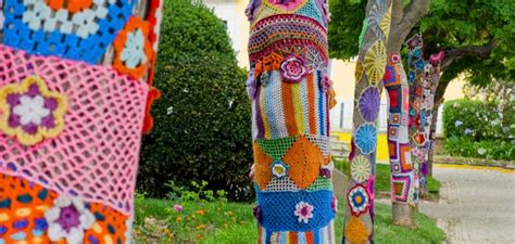 yarn bombing day 2016 yarn bombing day june 11th 2016 mickflieg