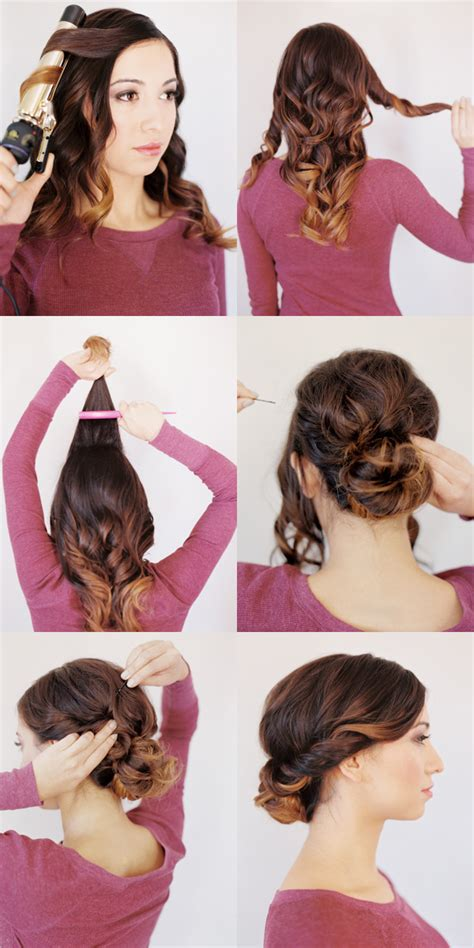 Hairstyles For Medium Hair Tutorials wedding hairstyles for medium hair tutorial once wed