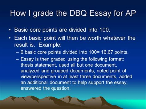 into the essay thesis writing the thesis statement and dbq essay ppt