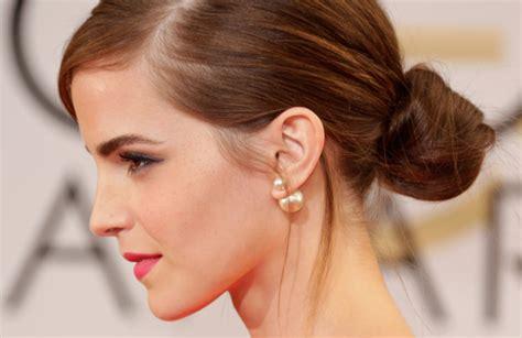 emma watson blog pearl new year countdown mise en dior pearl earrings took