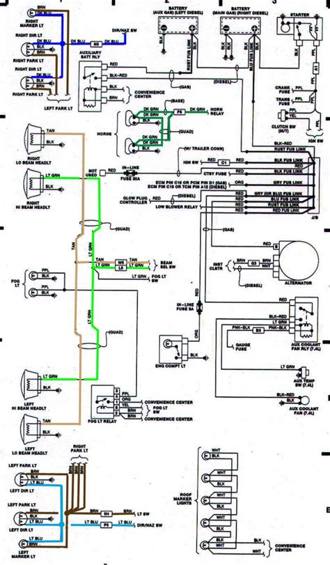1990 k5 blazer fuse box wiring diagram