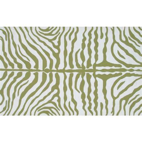 green zebra rug zebra green hook rug