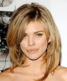 layered haircut pictures latest celebrity hairstyle pictures annalynne mccord long