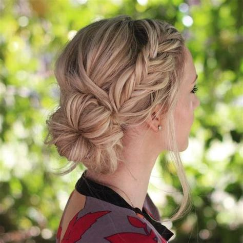 braided hairstyles with side bun 20 stylish and appropriate hairstyles for work