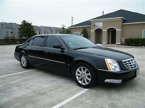 Cadillac Dts L by Buy Used 2008 Cadillac Dts L Black On Black 1 Owner In