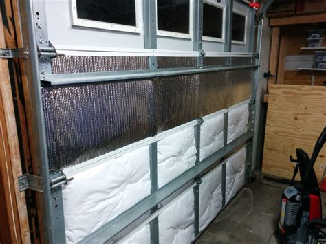 Garage Door Radiant Barrier Garage Door Insulation Part 2 Reflectix Radiant Heat
