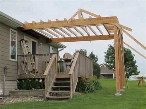 How To Add A Patio Roof by Covered Deck S Place