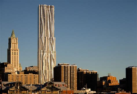 frank gehry s nyc tower has green features rent