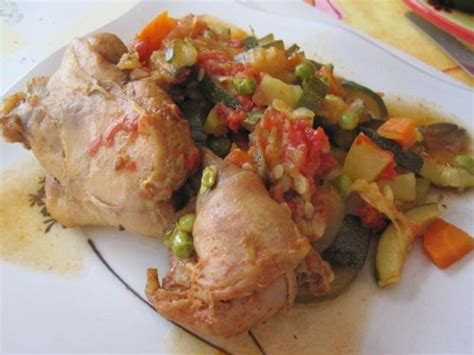 recette lapin aux petits legumes