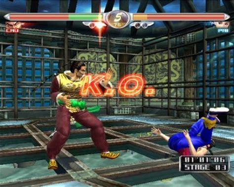 Virtua Fighter 4: Evolution   TFG Review