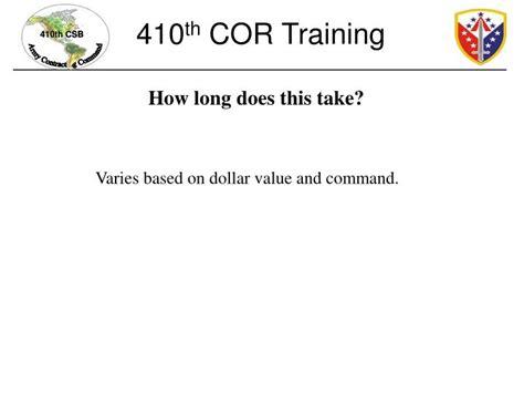Cor Nomination Letter