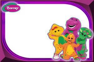 Barney Birthday Invitations Free   Ajordanscart.com