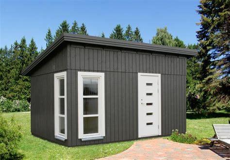Gartenhaus Modern Grau