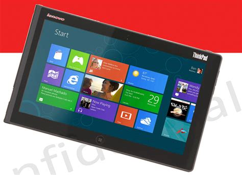 Tablet Lenovo Windows 8 lenovo windows 8 thinkpad tablet 2 se filtra con todo lujo de detalles engadget en espa 241 ol