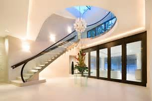 Contemporary Homes Interior by Modern Homes Interior Stairs Designs Ideas