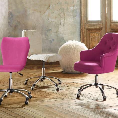 Velvet Desk Chair by Velvet Tufted Desk Chair Pbteen