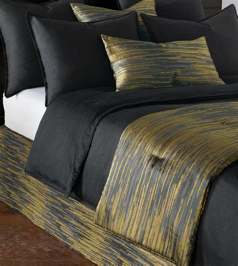 bed scarf niche luxury bedding by eastern accents horta olive bed