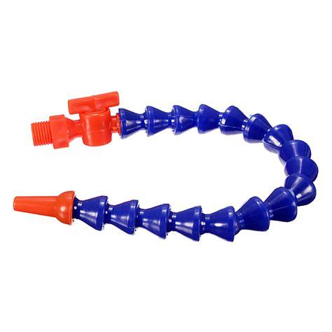 Bracket Ujung Pipa Bulat 1 Inch Sambungan Pipa Gantungan Lemari Baju fleksibel selang air plastik minyak untuk mesin bubut cnc dengan pipa cairan pendingin 30 23 cm