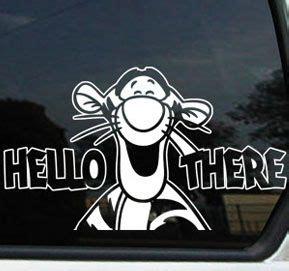 tigger window decals  cars tigger tiger cat winnie pooh disney decal sticker