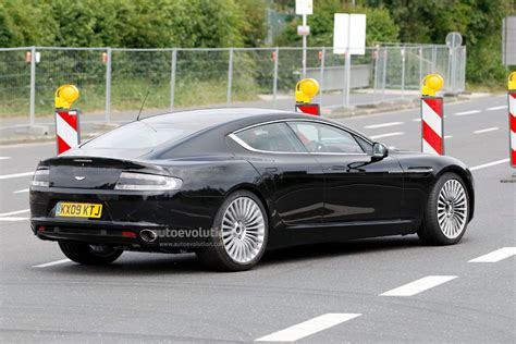 spyshots aston martin rapide no camo at all autoevolution