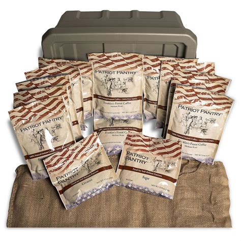 Patriots Pantry by Augason Farms Patriot Pantry Emergency Instant Coffee Kit