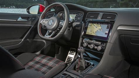 golf gti interni vw golf gti performance pack mk7 facelift 2017 review by