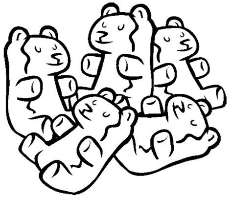 gummi bears coloring page bear s first pinterest