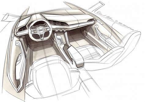 audi crosslane coup 233 concept design sketches car
