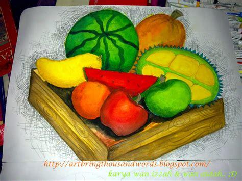 tutorial menggambar buah buahan art cakes me pendidikan seni visual